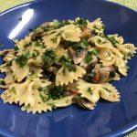 Mushroom and Chillies Pasta